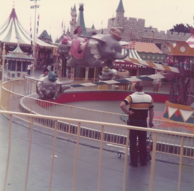 Dumbo & old Fantasyland
